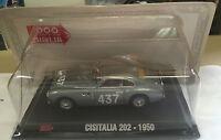 "DIE CAST 1000 MIGLIA "" CISITALIA 202 - 1950 "" + BOX 2 SCALA 1/43"