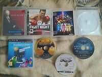 Sony Playstation 3 PS3 PAL Game LOT x6 Duke Nukem Batman Hitman Fight Night Used