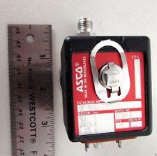 """Asco Redhat Stainless 24VDC Solenoid Valve SC B262 C7 Water Air Oil 1/4"""" NPT"""