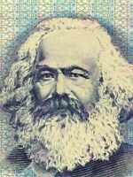 Painting Political Karl Marx Banknote Design Communism Canvas Art Print