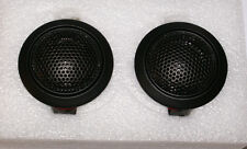 Silk Cloth 25MM Dome Tweeters Audiophile Quality Car & Home Stereo Pair NEW READ