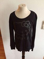 H&M Hello Kitty Langarm Shirt Sweat Pullover zu Jeans Hose Rock Gr. 122 128