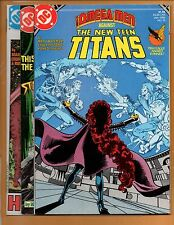The New Teen Titans #16 17 & 18 2nd series VF/NM to NM+