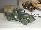 KING AND COUNTRY DD146 BRITISH NORMANDY AUSTIN LIGHT UTILITY VAN TRUCK + DRIVER