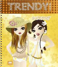 Trendy model summer. Con gadget - 2M - Libro Nuovo in Offerta!