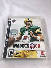 Madden NFL 09 (Sony PlayStation 3, 2008) FREE FAST SHIPPING!