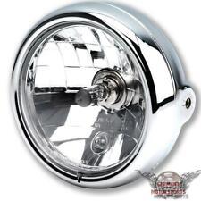 "BMW 5 3/4"" Motorrad Scheinwerfer H4 chrom R 850 1150 1100 1200 R RT RS G"