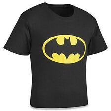 BATMAN Camiseta 2xl NEGRO DE HOMBRE 100% algodón NUEVO superhéroe XXL murciélago