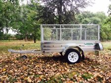 New 6x4 Paxton Caged Cage Galvanised Steel Car Multi Purpose Utility Trailer