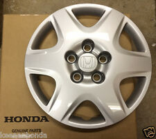 Genuine OEM Honda Accord 15 Inch Steel Wheel Cover 2005-2007