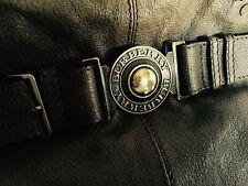Original BURBERRY Tasche Handtasche Shopper Leder Khaki braun Luxus edel