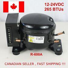 12V 24V DC Refrigeration Compressor Fridge Freezer Marine Solar QDZH25G R134a