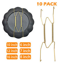 10Pcs Wall Plate Spring Hook Hanger Holder Hanging Wire Home Decor Accessory US
