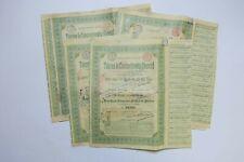TOLERIES DE CONSTANTINOWKA DONETZ ACTION DE 250 FRANCS 1896 X 8 ACTIONS