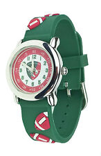 Offiical LEICESTER TIGERS Rubber Strap Watch JUNIOR Kids Boys
