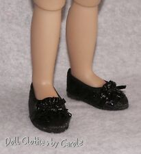 "Black Dress Ballet Flats fit 18"" Kidz n' Cats Dolls - Shoes"
