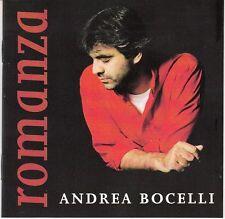 CD ALBUM   ANDREA BOCELLI *ROMANZA*