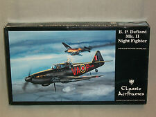Classic Airframes 1/48 Boulton Paul Defiant Mk.II Night Fighter