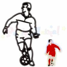 Sugarcraft Patchwork cutters, embosser - FOOTBALLER - cake decoration