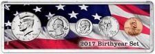Birth Year Coin Gift Set, 2017