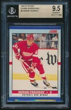 1990-91 Score Young Superstars rookie #9 Sergei Fedorov rc BGS 9.5