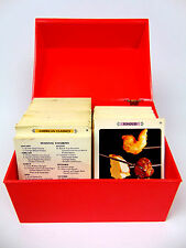 1970s Vintage Betty Crocker Recipe Card Library Red Box General Mills LOADED EUC