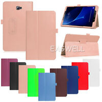 "For Samsung Galaxy Tab S2 E 4 A 7"" 8.0 10.1 Inch Tablet Leather Smart Cover Case"