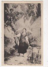 Domremy La Vision de Jeanne d'Arc Lenepven Vintage Postcard France 882a