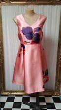 Estelle coral floral dress. Size 16-18