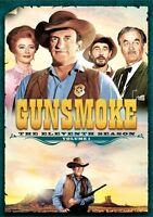 Gunsmoke: Eleventh Season - Volume One - 4 DISC SET (2014, DVD NUOVO (REGIONE 1)