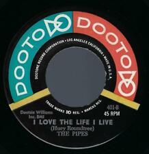 The Pipes You Are An Angel / I Love The Life I Live 45 NM R&B Doo-Wop Dooto