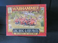 Games Workshop Wfb AoS Dogs of War Long Drong Slayers Pirates in original box.
