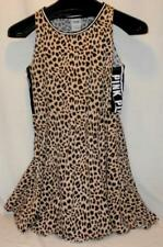 Victoria's Secret Pink Leopard Print Skater Dress, Size L Beach Free Shipping!