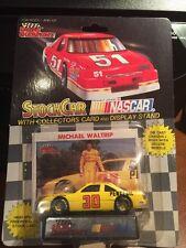 Racing Champions Michael Waltrip #30 Pennzoil Racing w/Card & Display 1:64 1992