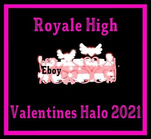 ROBLOX ROYALE HIGH - VALENTINES HALO 2021 RH, DIAMONDS **READ DESCRIPTION**