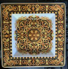 "Rosenthal Versace Barocco 5"" Square Vanity Dish New"