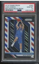 2018-19 Panini Red White Blue Prizm #280 Luka Doncic RC Rookie PSA 10 GEM MINT