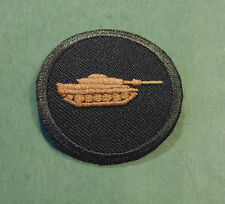 CANADA Canadian Armed Forces trade Armoured qualification Tank badge Level 1