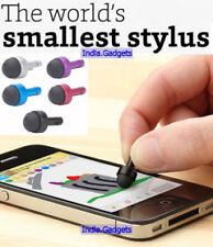 2-in-1 Smallest Capacitive Touchscreen Stylus And 3.5mm Jack Anti-Dust Plug