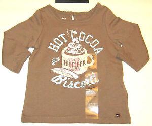 New Tommy Hilfiger Girls Newborn to Toddler Tops & Shirts