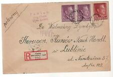 1944 Pawlow Cholm Lublin Germany Occupied Poland Cover