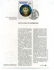 FRANCE NOTICE 1° jour, timbre 2637, Tableau Tete Christ