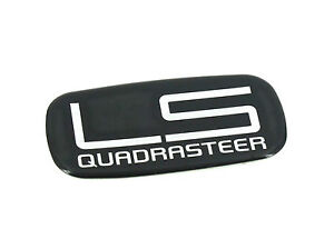 Genuine New CHEVROLET LS QUADRASTEER EMBLEM Badge 2004-05 Silverado Suburban Cre