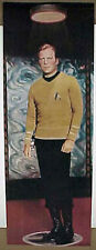Star Trek Kirk Door Poster Vintage 1976- Rolled!