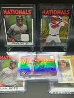 2021 Topps Series 1 Juan Soto (5x) Lot w/Silver Pack + More *SEE DES* Nationals