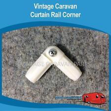 Caravan Curtain Rod Elbow Joint 16mm Vintage Viscount, Franklin, Millard W0109
