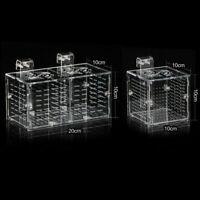 Aquarium Breeding BoxSeparation Isolate Hatch Fish Q4J5 Discus Small Guppy X9O0