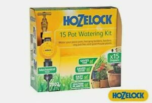*Shop soiled see details* Hozelock 15 pot watering kit 2802