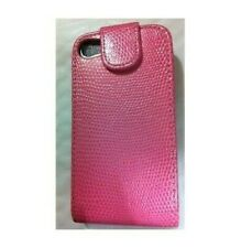 Cover Case Built Pink IPHONE 4 4S Pink Snake Shell Flip