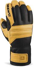 Dakine KODIAK Mens Gore-Tex Snowboard Ski Gloves Size Medium Black Tan NEW
